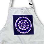 click on Lavender and deep royal purple fantasy mandala flower on midnight blue background to enlarge!