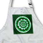 click on Pastel and deep green fantasy mandala flower on forest green background to enlarge!