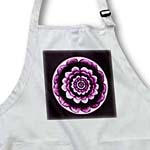 click on Lilac and eggplant purple fantasy mandala flower on deep purple background to enlarge!