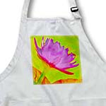 click on Decorative colorful garden botanic plant water lily red purple green flower abstract to enlarge!