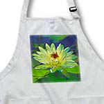 click on Decorative colorful garden botanic plant water lily green gold flower abstract pastel cartoon to enlarge!