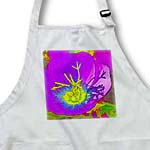 click on Decorative colorful garden botanic plant blue purple gold flower abstract cartoon to enlarge!