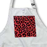 click on Coral Red and Black Leopard Print to enlarge!