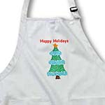 click on Happy Holidays Pointillism Christmas Tree to enlarge!