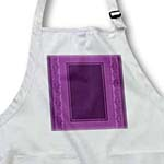 click on Eggplant purple striped and damask ribbon frame to enlarge!