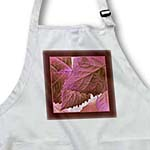 click on Wine and pink metallic leaves with warm chocolate frame to enlarge!