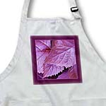 click on Wine metallic leaves with rich magenta purple frame to enlarge!
