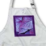 click on Purple and pink metallic leaves with royal purple frame to enlarge!