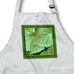 click on Green and gold metallic leaves with Deep olive green frame to enlarge!