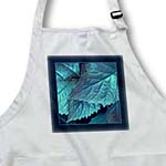 click on Turquoise and cobalt blue metallic leaves with navy blue frame to enlarge!