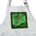 click on Kelly green metallic leaves with hunter green frame to enlarge!