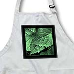 click on Rich green metallic leaves with black frame to enlarge!