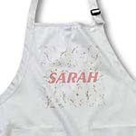 click on Pink Name Sarah On Pink Floral to enlarge!