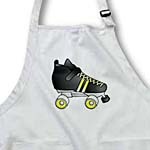 click on Skating Gifts  - Black and Yellow Roller Skate to enlarge!