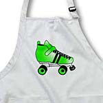 click on Skating Gifts  - Green and Black Roller Skate to enlarge!