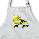 click on Skating Gifts  - Yellow and Black Roller Skate to enlarge!