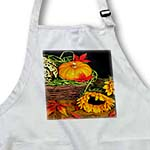 click on Pumpkin and Squash in a Basket with Sunflower  to enlarge!