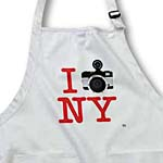 click on I Photographed New York - Red text and grey camera on white background to enlarge!