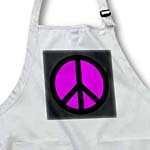 click on Fuchsia and Black Peace Sign to enlarge!