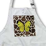 click on Yellow Butterfly On Giraffe Fur to enlarge!