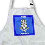 click on State Flag Of New Jersey to enlarge!