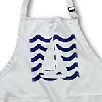 click on White Toy Sailboat On Blue Waves to enlarge!