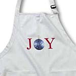 click on Joy Blue Christmas Ornament- Holiday Inspirations to enlarge!