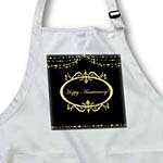 click on Black and Gold Happy Anniversary to enlarge!