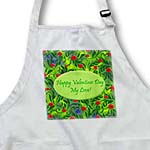 click on Wild Green Valentines Design to enlarge!