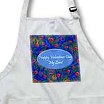 click on Wild Dark Blue Valentines Design to enlarge!