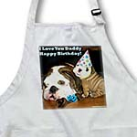 click on English Bulldog Happy Birthday Daddy to enlarge!