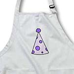 click on Cute Birthday Hat Purple with Dots to enlarge!
