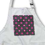 click on Pink - Geometric Print Black - Diamonds and Polka Dots to enlarge!
