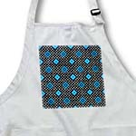 click on Blue - Geometric Print Black - Diamonds and Polka Dots to enlarge!