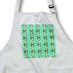 click on Seafoam - Flowers on Green Stripes to enlarge!