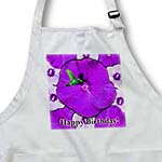 click on Hummingbird and Purple Hibiscus Birthday to enlarge!