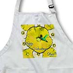 click on Hummingbird Yellow and White Hibiscus Valentines to enlarge!