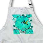 click on Hummingbird Blue and White Hibiscus Anniversary to enlarge!