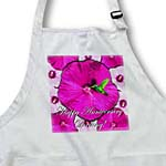 click on Hummingbird Pink and White Hibiscus Anniversary to enlarge!