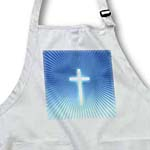 click on Christian Cross Symbol on blue backround with rays to enlarge!