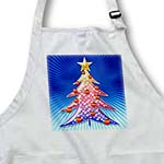 click on Cute Christmas Tree (colorful) on blue rays background to enlarge!