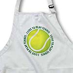 click on I Live To Play Tennis - text around tennis ball to enlarge!