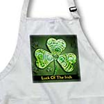 click on Text Luck of The Irish. Chic clovers (green) to enlarge!