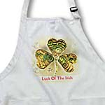 click on Text Luck of The Irish. Chic clovers (colorful) to enlarge!