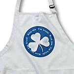 click on Chick blue clover with text Kiss Me. Im Irish on dark blue background to enlarge!
