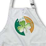 click on Chic clover with text Happy St. Patricks Day to enlarge!