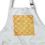 click on Tangerine on Tangerine Damask Pattern to enlarge!