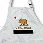 click on State Flag Of California to enlarge!
