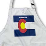 click on State Flag Of Colorado to enlarge!