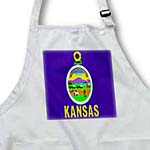 click on State Flag Of Kansas to enlarge!